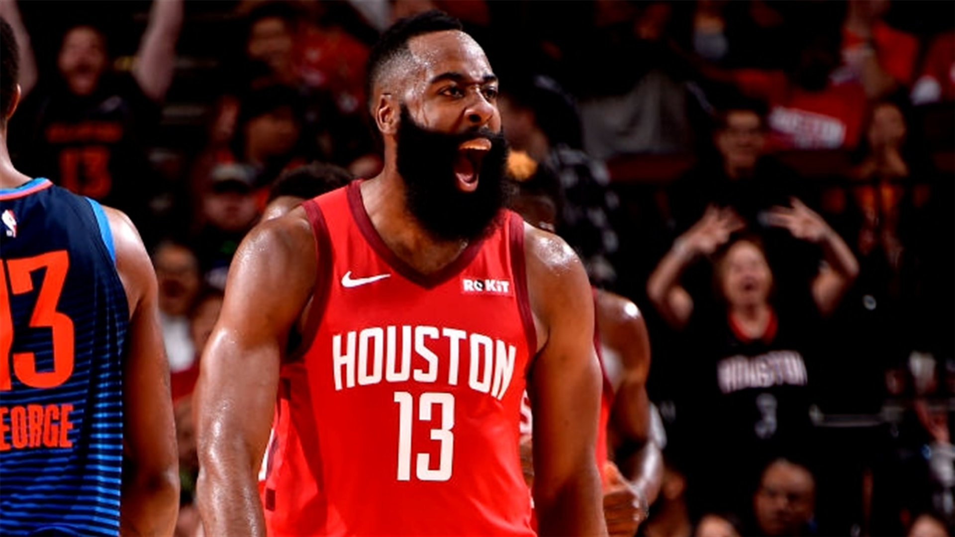 b43995b21938 Four takeaways from Harden s 41-point performance as the Rockets edge the  Thunder