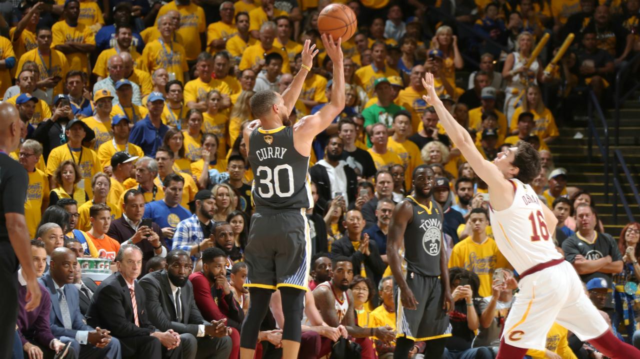 NBA Finals 2018: Stephen Curry breaks 3-point record | NBA.com