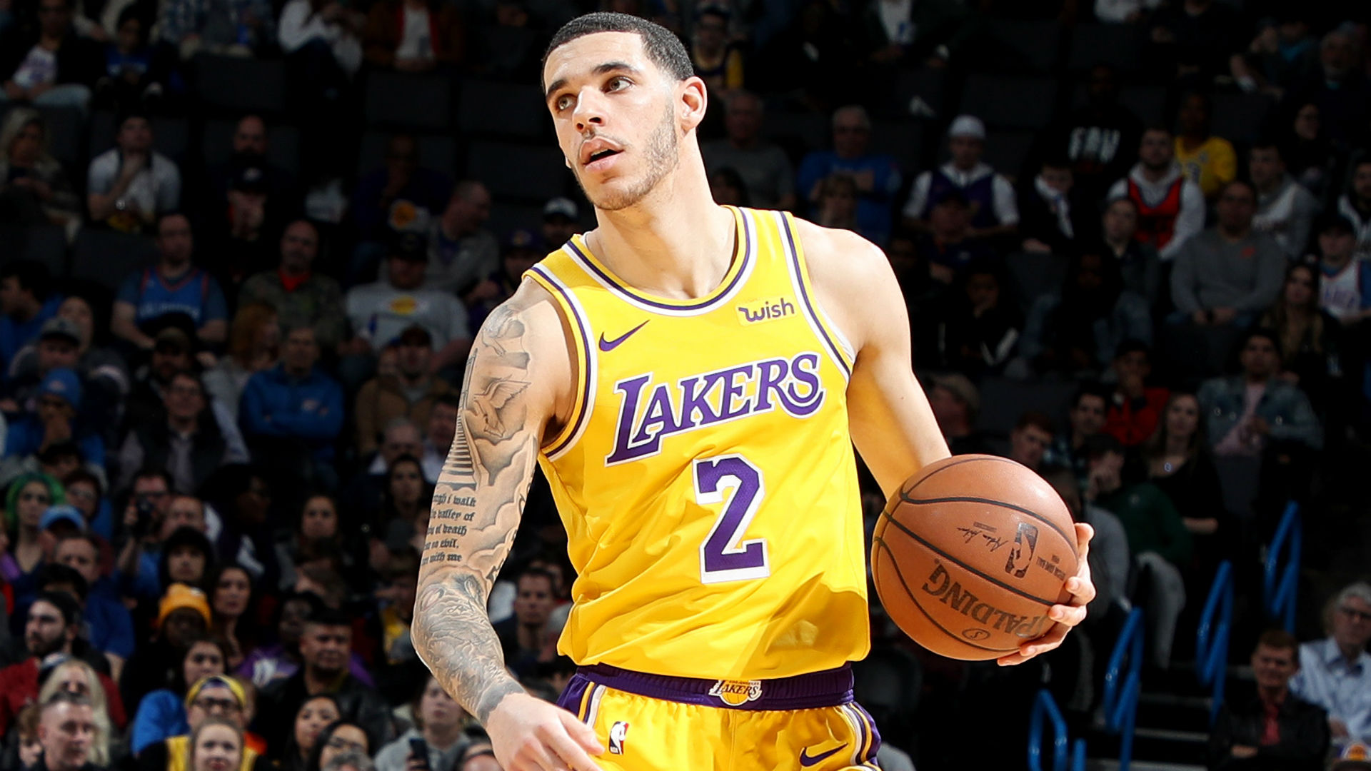94fbaa6073d Lonzo Ball to miss 4-6 weeks with Grade 3 ankle sprain