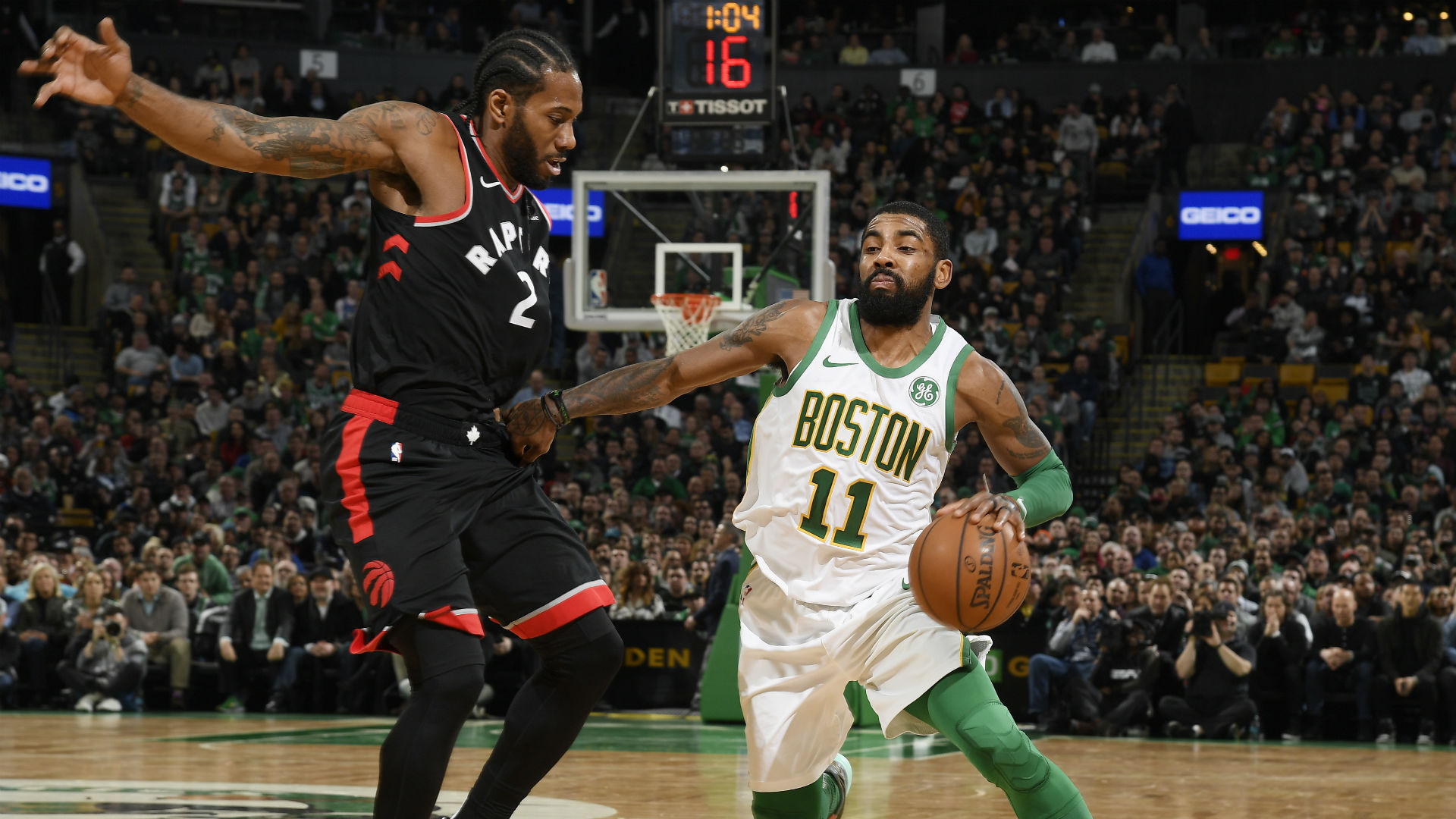 Raptors show no mercy in win against rival Celtics