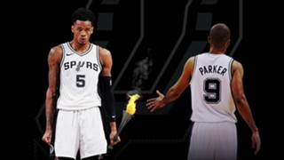 Dejounte Murray takes the point guard torch in San Antonio