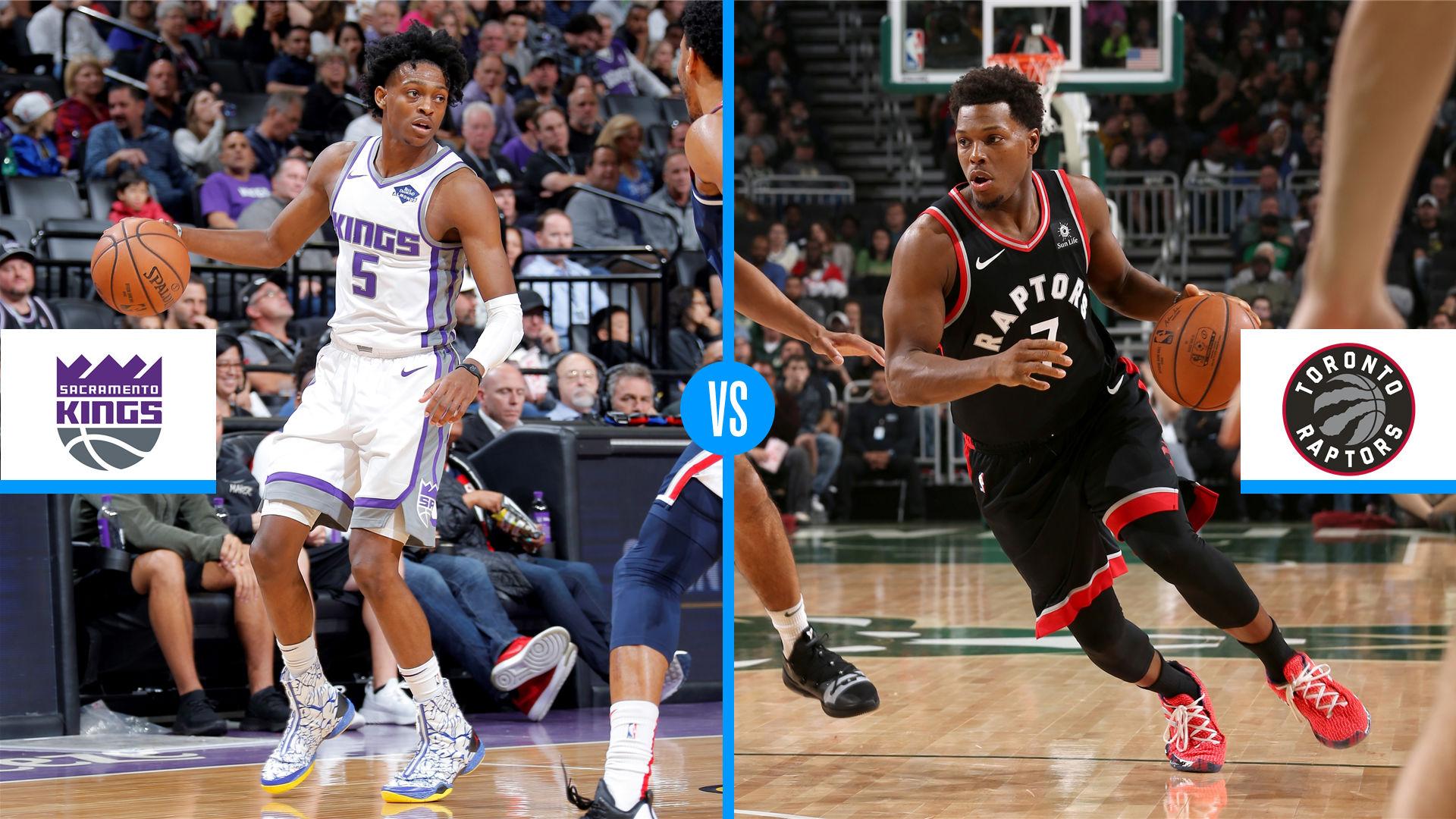 Toronto Raptors Vs Sacramento Kings Game Preview Live