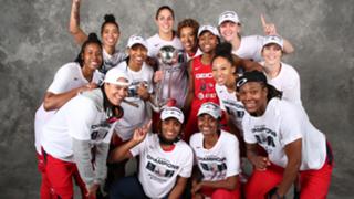 The 2019 WNBA Champions - the Washington Mystics