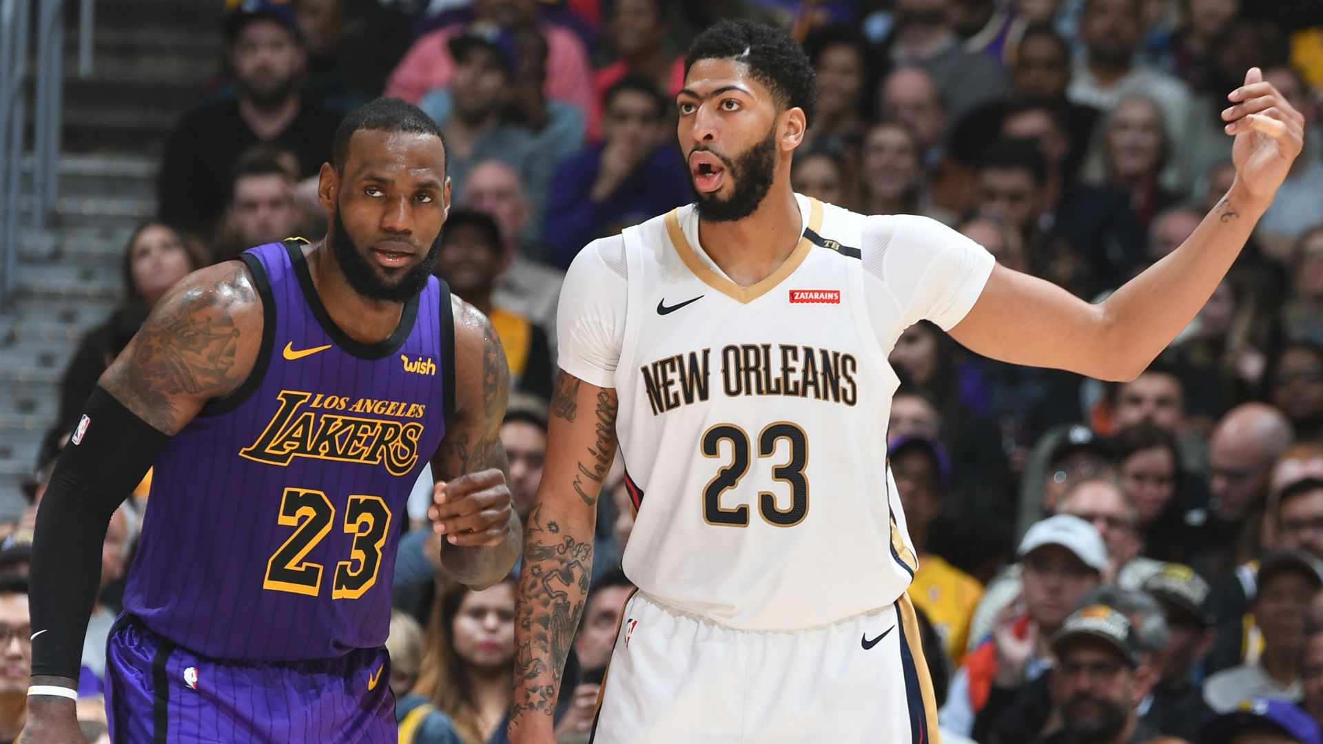 NBA players react to the New Orleans Pelicans reportedly trading Anthony Davis to the Los Angeles Lakers