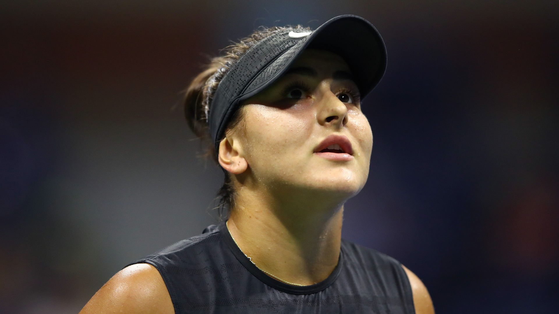 Bianca Andreescu drops puck at Maple Leafs game, run as Toronto sports good luck charm continues?