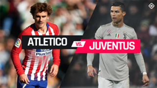 Atletico Madrid vs. Juventus graphic