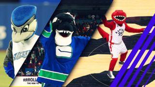 Canada Mascots graphic