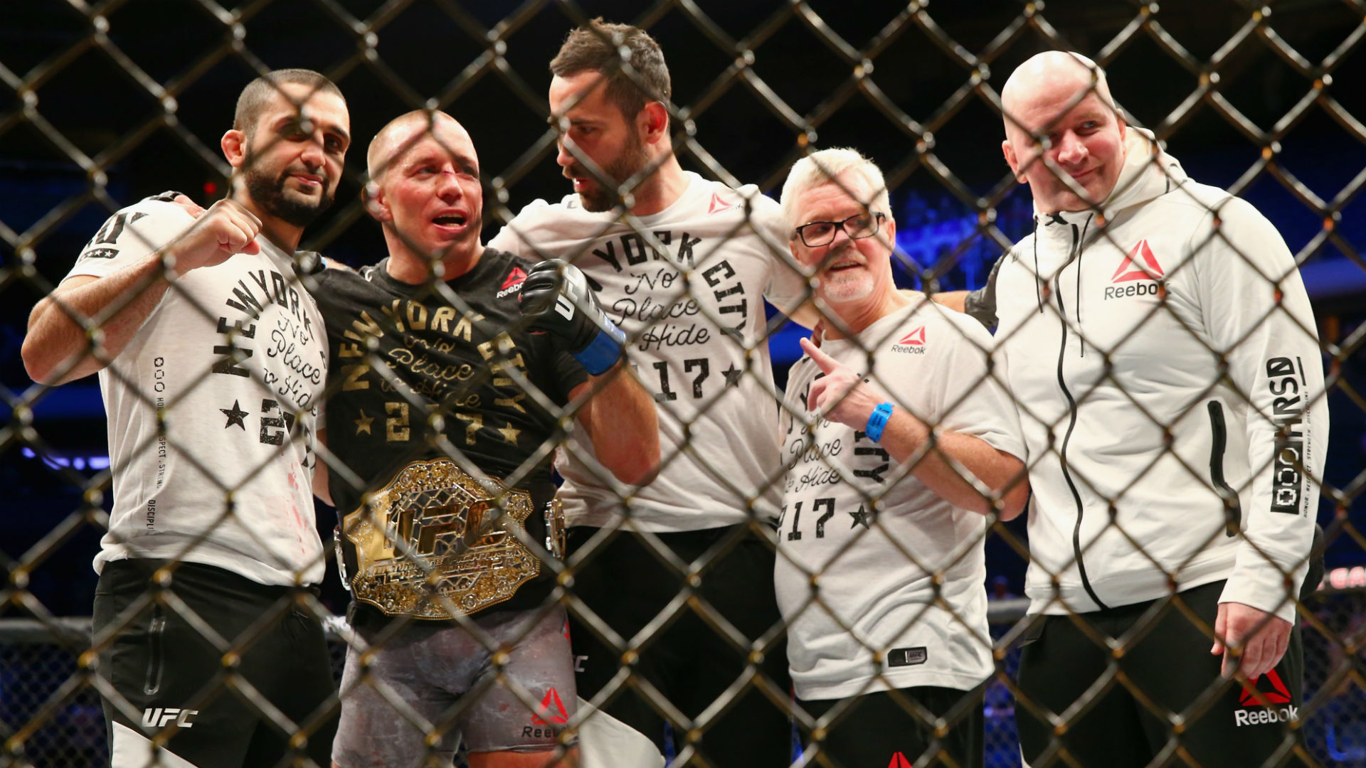UFC 217: Georges St-Pierre defeats Michael Bisping to claim middleweight championship