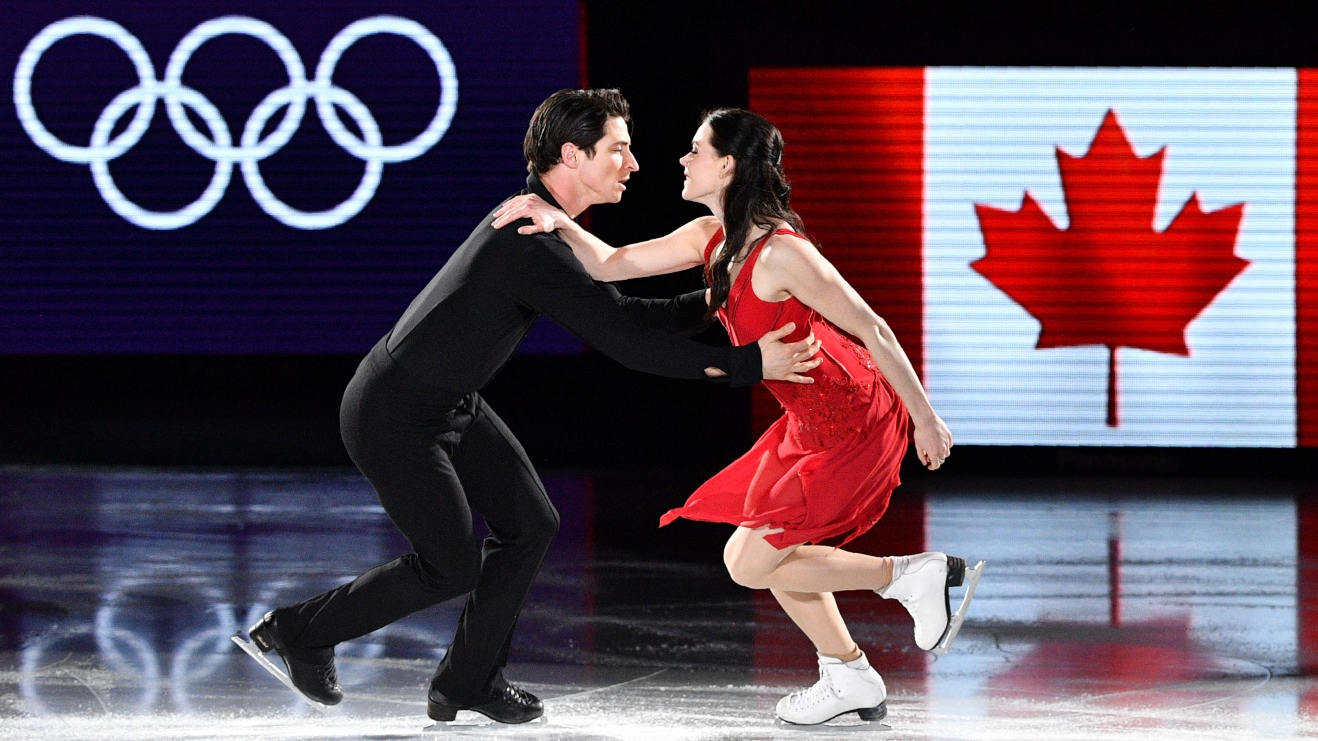 Virtue and Moir announce retirement from figure skating following 'Rock the Rink' tour