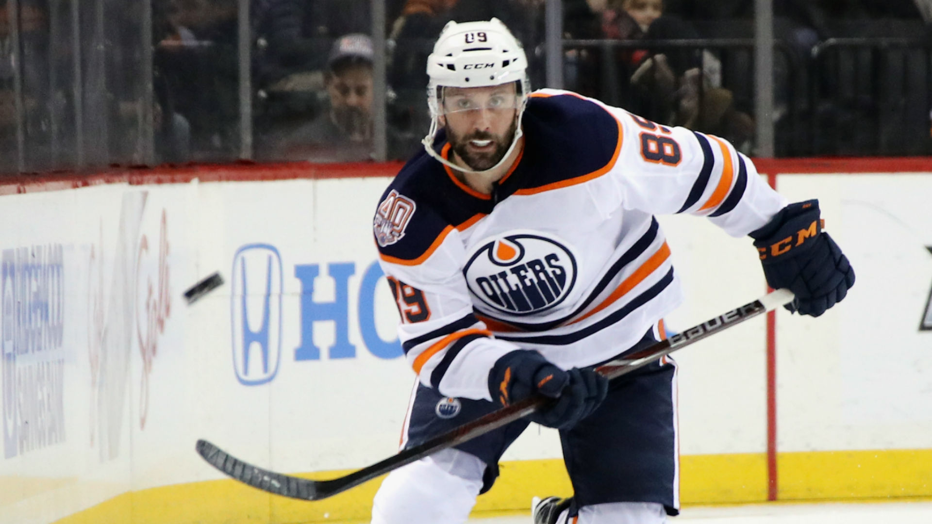 It has been a long road, but Sam Gagner 'excited' to be back with Oilers