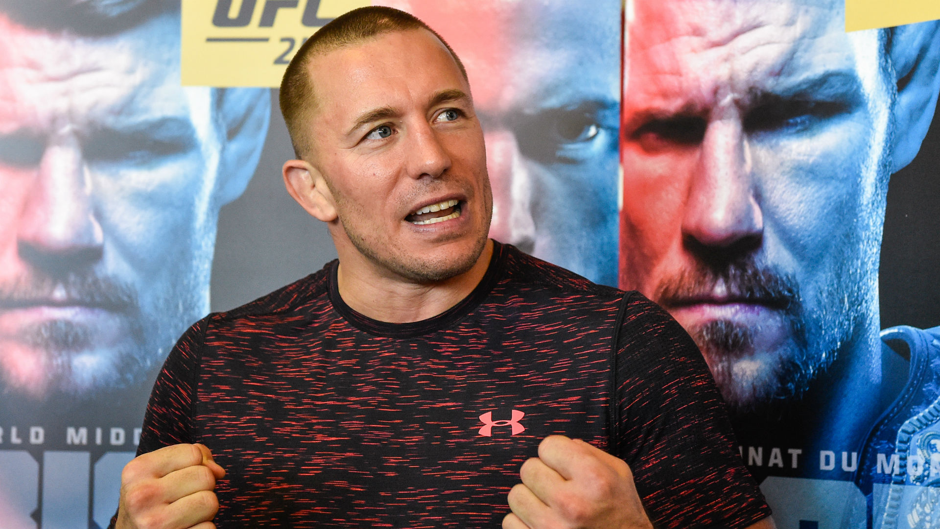 UFC 217: Georges St-Pierre living in the moment ahead of return