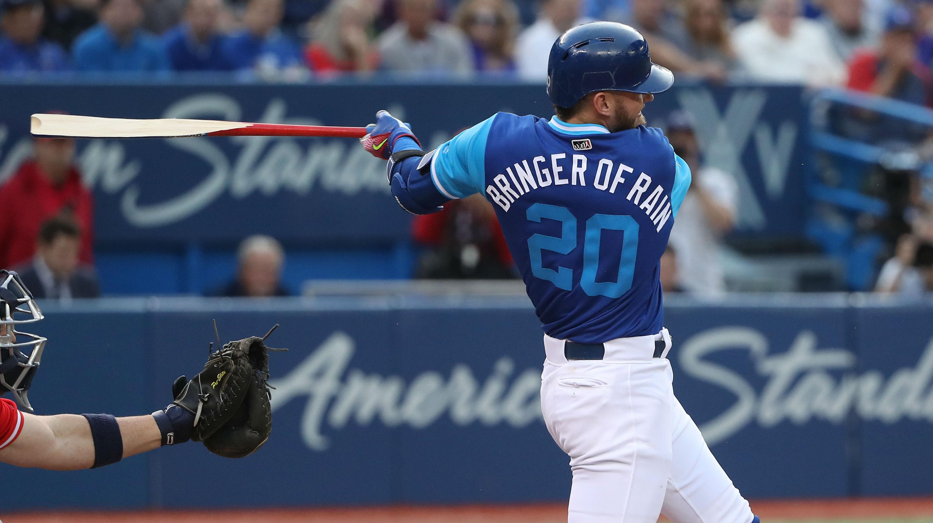 de9b86910 Blue Jays release 2018 MLB Players  Weekend jerseys