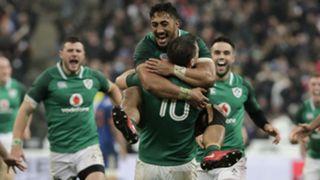 Jonathan Sexton Ireland celebration