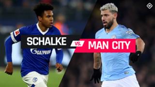 Schalke 04 vs. Man City graphic