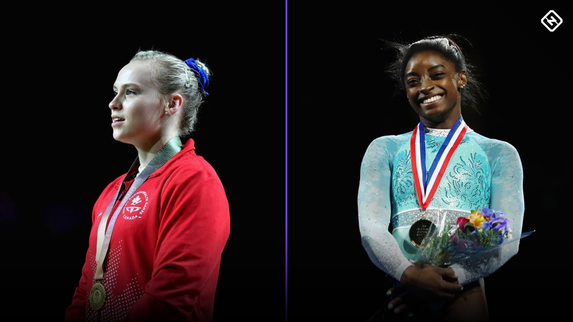 Ellie Black, Simone Biles on DAZN: How to watch, live stream The Superstars of Gymnastics
