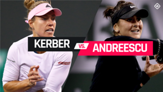 Kerber vs. Andreescu graphic