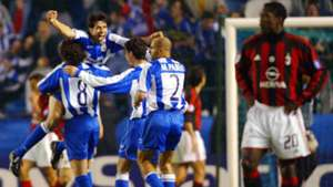 Milan Deportivo Champions League quarterfinal second leg match 2004