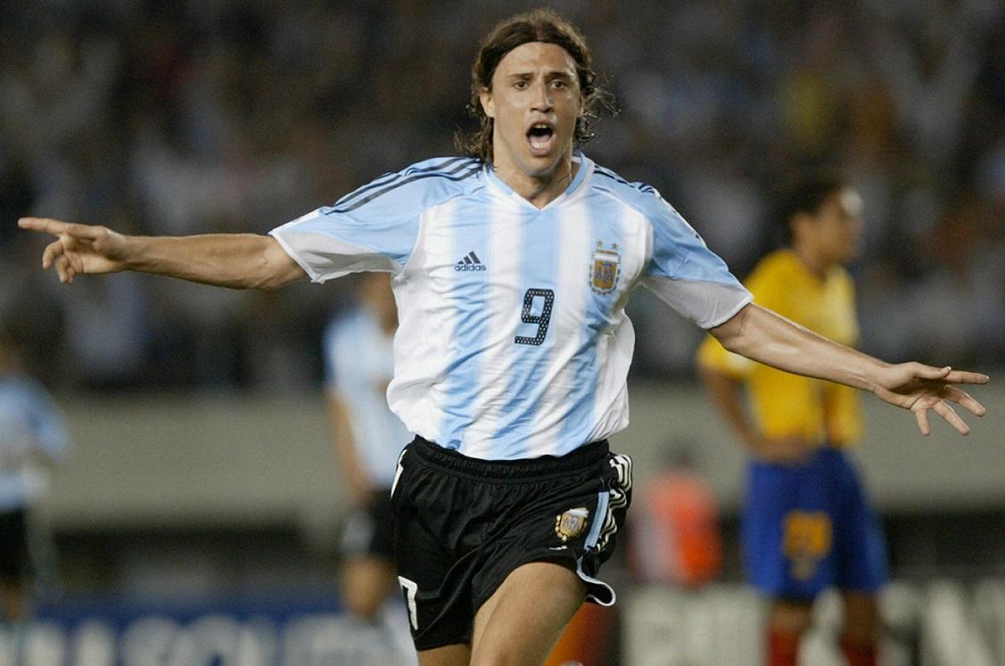 Hernan Crespo Argentina Ecuador 2006 FIFA World Cup qualifier 2004
