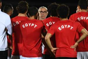 Egypt's Argentinian coach Hector Raul Cuper