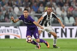 Leonardo Bonucci Juventus Nikola Kalinic Fiorentina Serie a