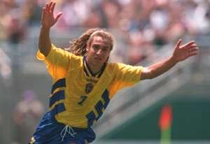 Henrik Larsson Sweden Bulgaria 1994 FIFA World Cup
