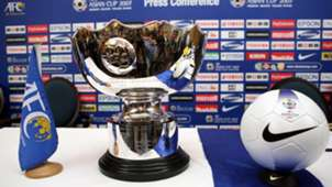 The AFC Asian Cup Trophy