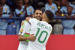 Riyad Mahrez Nabil Bentaleb Algeria Zimbabwe AFCON 2016 15012017
