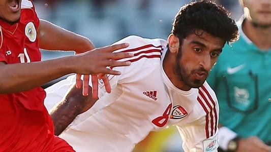 Hamdan Al Kamali of the United Arab Emirates UAE