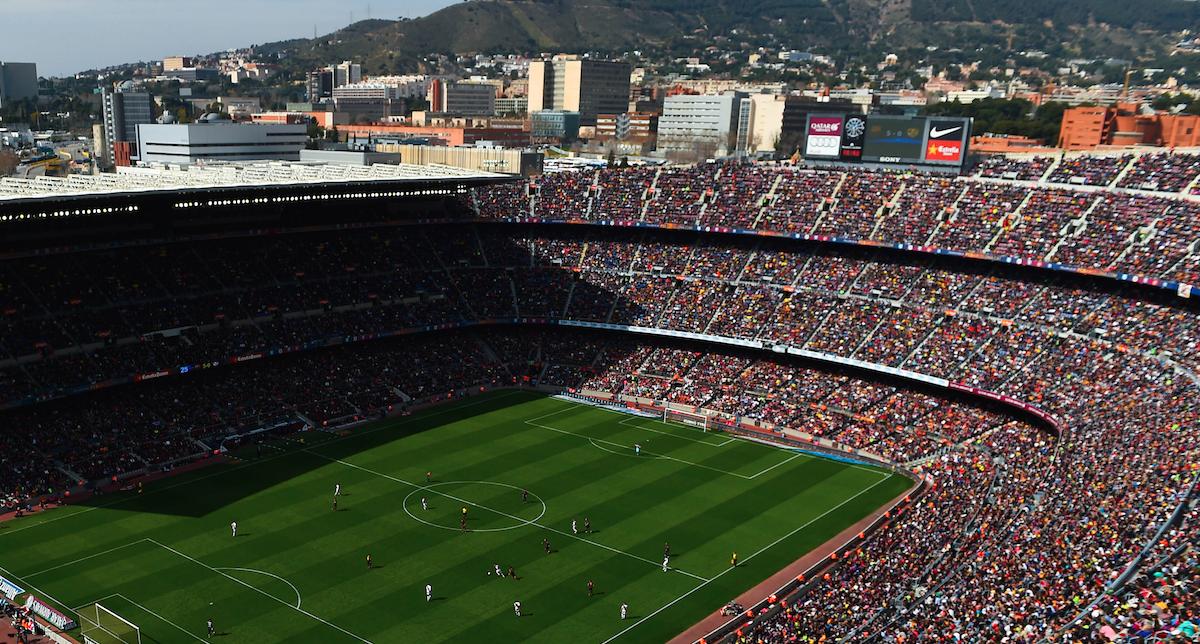 Camp Nou Barcelona, Catalonia