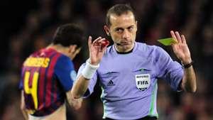 Turkish referee Cuneyt Cakir