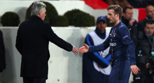 Carlo Ancelotti David Beckham
