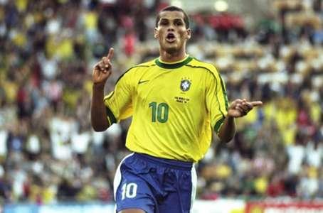 Rivaldo Brazil Denmark 1998 FIFA World Cup