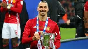 Zlatan Ibrahimovic Manchester United EFL Cup 26022017