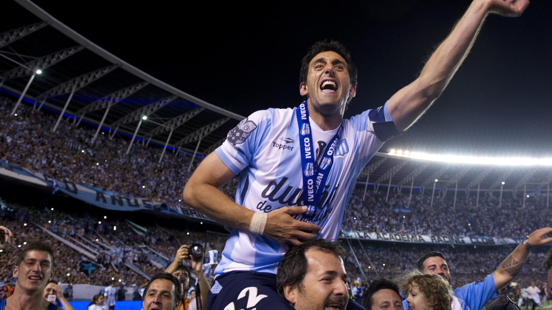 Diego Milito Racing Club de Avellanda Godoy Cruz Argentine Argentine Primera División 14122014