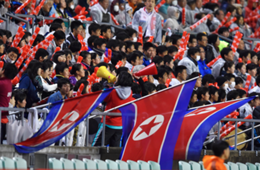 north korea fans