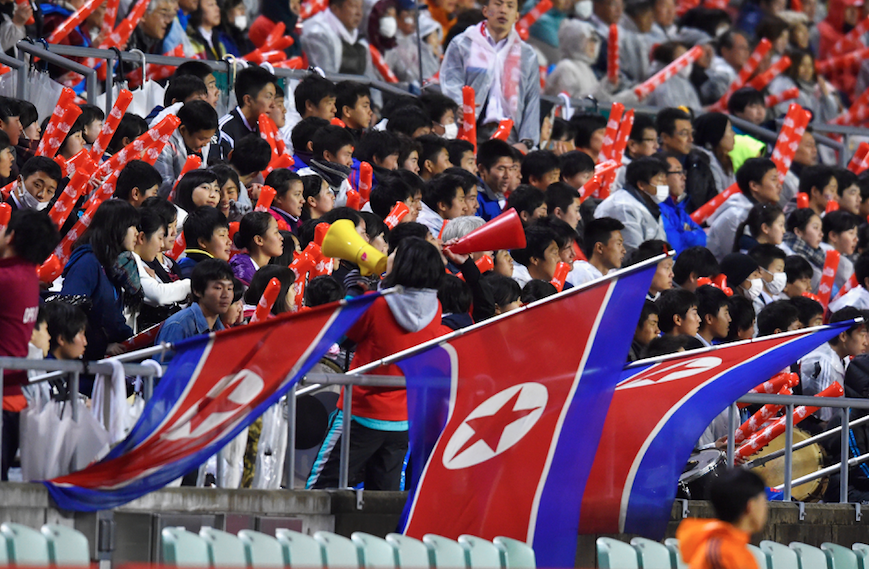 north korea fans