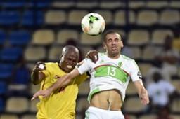 Islam Slimani Willard Katsande Algeria Zimbabwe AFCON 2017 15012017