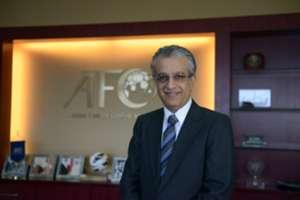 Sheikh Salman bin Ibrahim Al Khalifa, President of the Asian Football Confederation