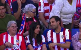 Atletico madrid fans