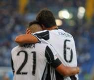 Paulo Dybala Sami Khedira Juventus Serie a