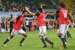 Mahmoud Kahraba Mohamed Salah Marwan Mohsen Egypt Uganda CAN 2017 21012017