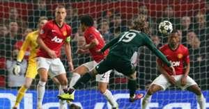 Luka Modric Manchester United Real Madrid Uefa Champions league 05032013