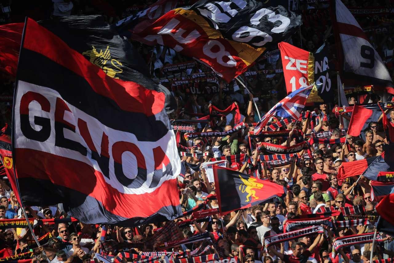 Genoa fans Serie A