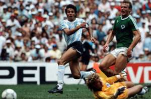 Jorge Burruchaga Argentina West Germany 1986 FIFA World Cup final goal