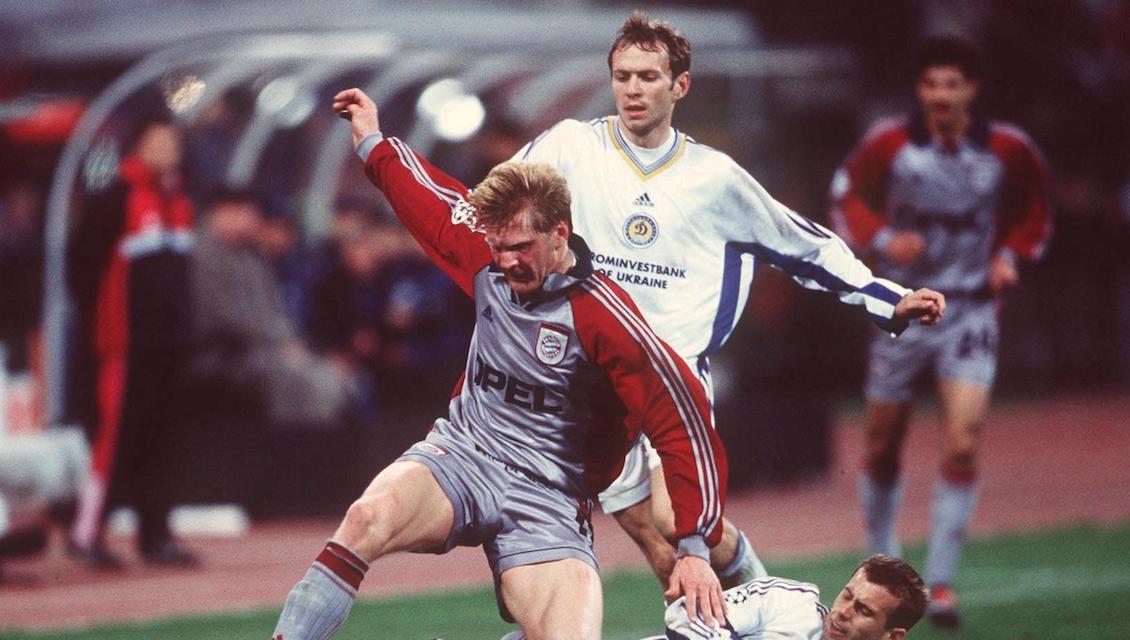 Bayern munchen Dynamo kyev . Stefan EFFENBERG/MUENCHEN, Olexander HOLOVKO