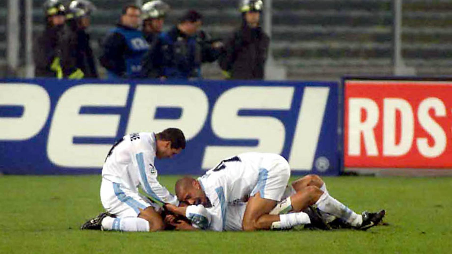 Diego Simeone Lazio Roma 11112000