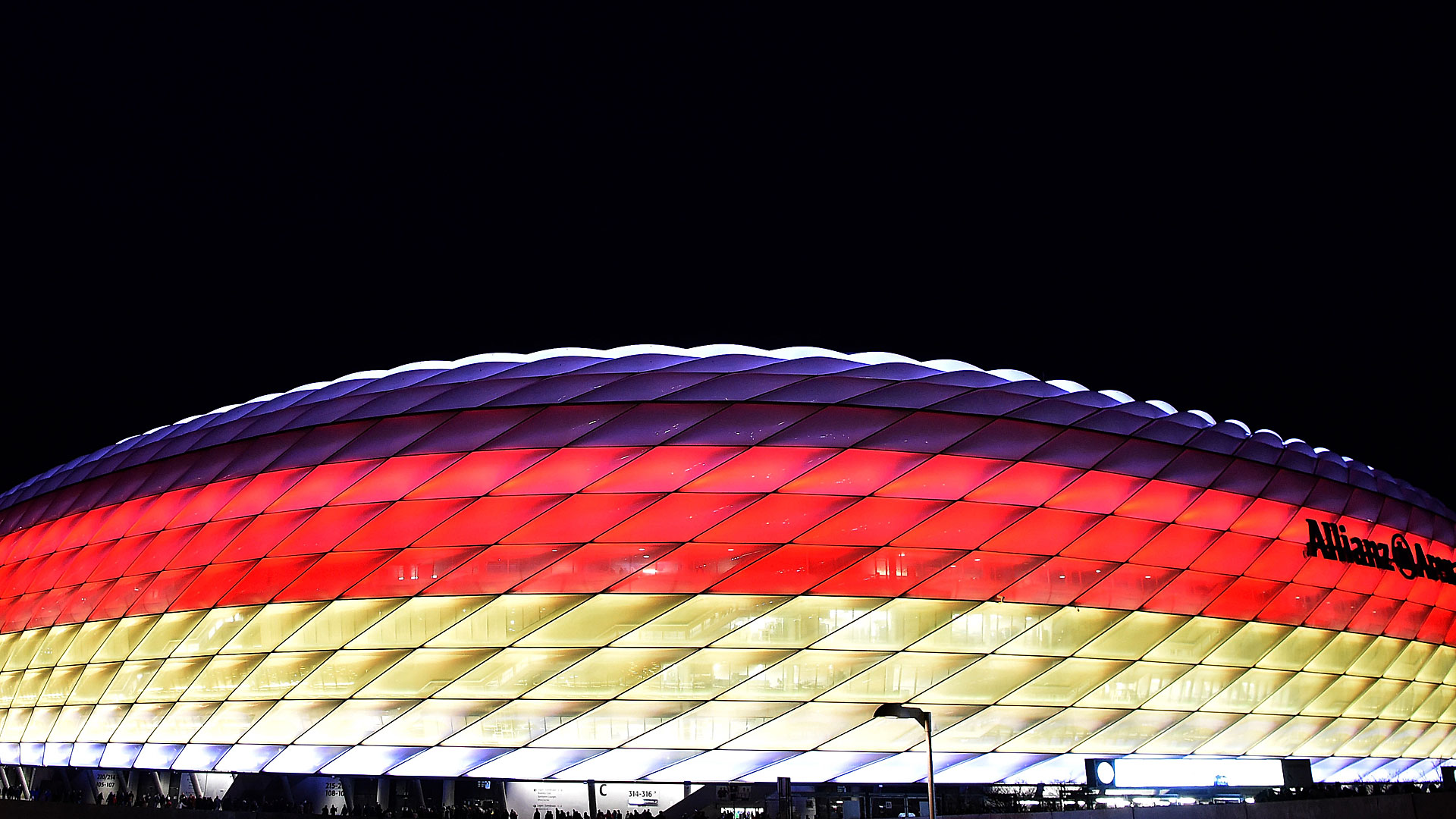 Allianz Arena Deutschland Germany DFB Italien Italy Friendly 29032016