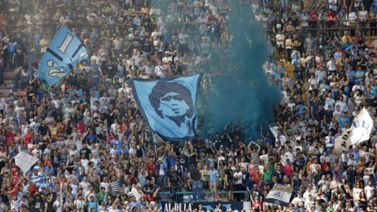 Napoli Fans Maradona 2013
