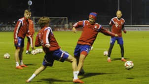 ONLY GERMANY Gianluca Gaudino Holger Badstuber FC Bayern Munchen