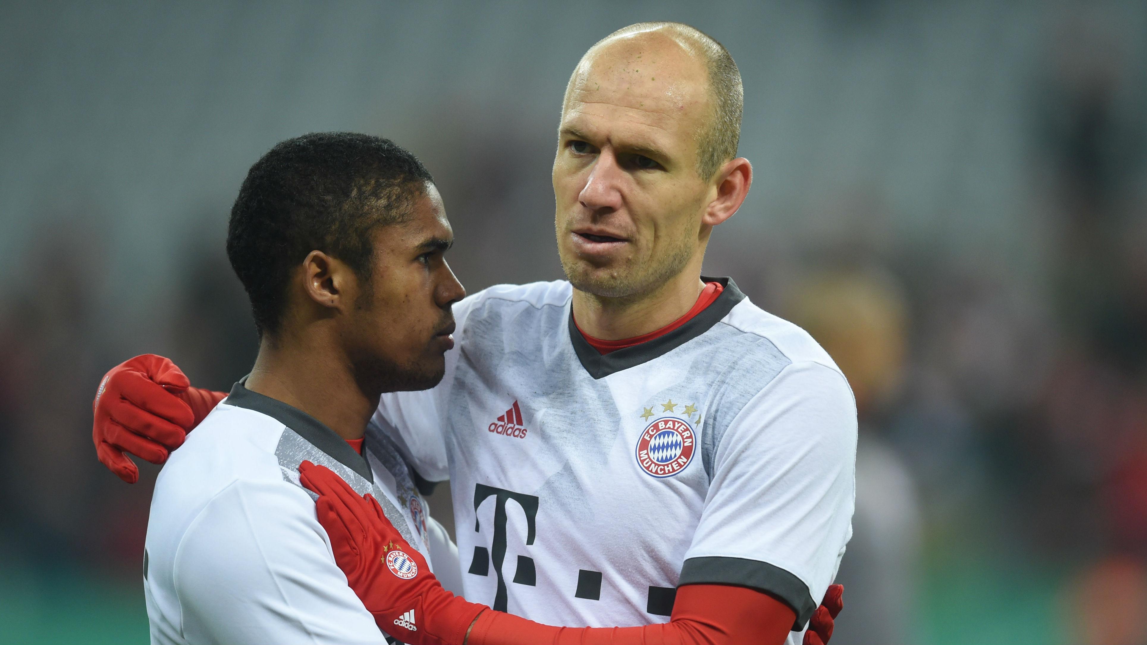 Arjen Robben Douglas Costa FC Bayern DFB-Pokal 07022017